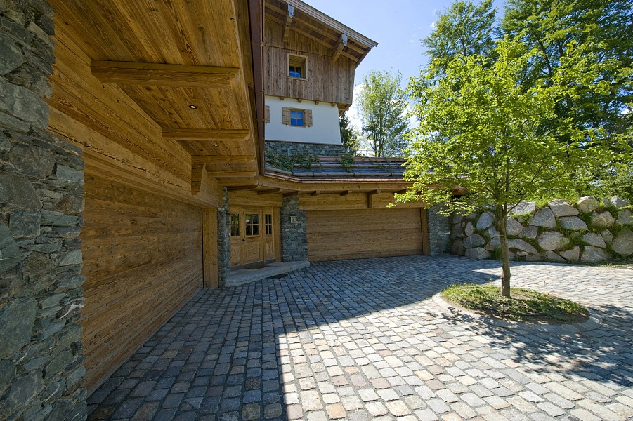 Innenarchitektur Kitzbühel landhaus mit blick auf kitzbühel