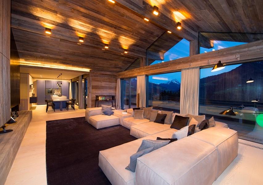 chalet in kirchberg. Black Bedroom Furniture Sets. Home Design Ideas
