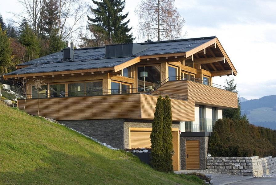 Landhaus vorderer sonnberg ii kirchberg for Landhaus modern bauen